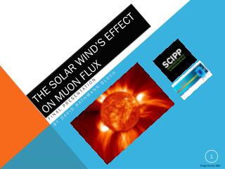 The Solar Wind's Effect on  Muon  Flux