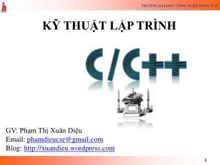 K? THU?T L?P TR�NH