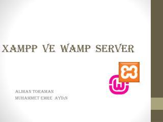 x ampp ve   w amP Server