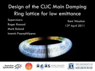 Design of the CLIC Main Damping Ring lattice for low  emittance