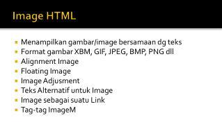 Image HTML