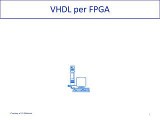 VHDL per FPGA