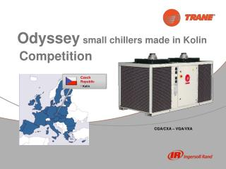 Odyssey small chillers  made in Kolin