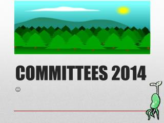 COMMITTEES 2014