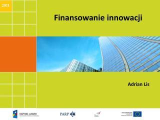 Finansowanie innowacji