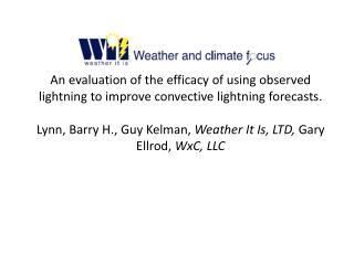 Forecast Particulars