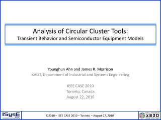 Analysis of Circular Cluster Tools:  Transient Behavior and Semiconductor Equipment Models