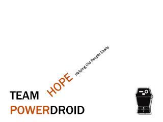 Team  Power Droid