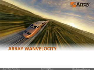 Array WANVelocity