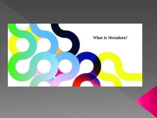 Metadata PP