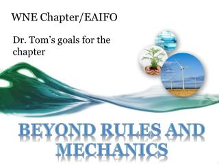 WNE Chapter/EAIFO