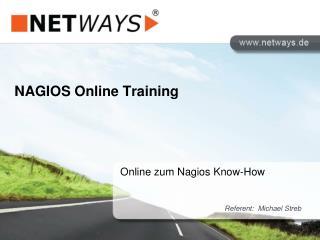 NAGIOS Online Training