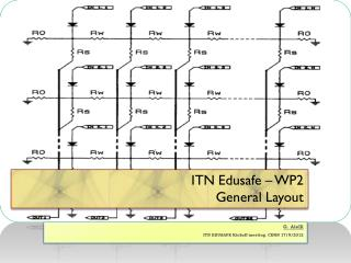 ITN Edusafe � WP2 General Layout