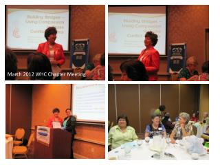 March 2012 WHC Chapter Meeting