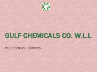 GULF CHEMICALS Co. W.L.L