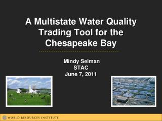 A Multistate Water Quality Trading Tool for the  Chesapeake Bay  Mindy Selman  STAC June 7, 2011