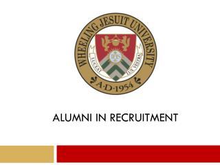 Alumni in Recruitment