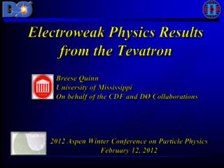 Electroweak Physics Results from the Tevatron