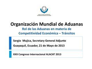 XXX Congreso Internacional ALACAT 2013