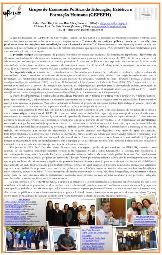 Líder:  Prof. Dr. João dos Reis Silva Júnior (UFSCar) - jr@pesquisadorpq.br