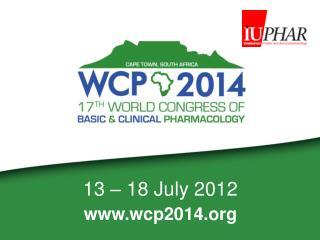 13 – 18 July 2012