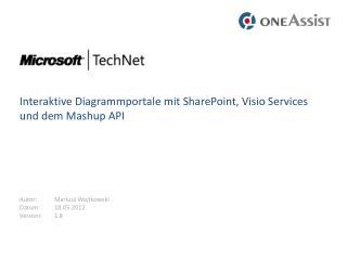 Interaktive Diagrammportale mit SharePoint, Visio Services und dem  Mashup  API