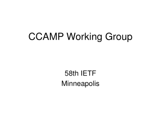 Requirements for Point to Multipoint extension to RSVP-TE draft-ietf-mpls-p2mp-requirement-01.txt