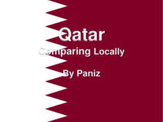 Qatar  Comparing  Locally By Paniz