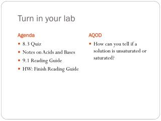Turn in your lab