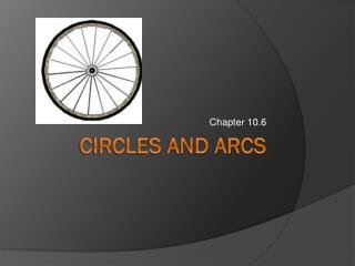 Circles and arcs