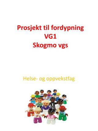 Prosjekt til fordypning VG1  Skogmo  vgs