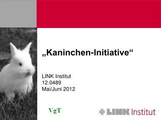 """Kaninchen-Initiative"""