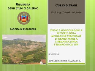 Studente: Iannuzzi Michele(0622500157)