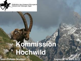Kommission Hochwild