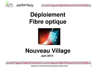 Nouveau Village  Juin 2014
