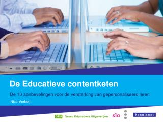 De Educatieve  contentketen