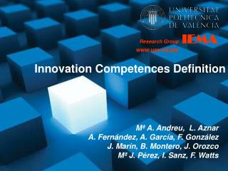 Innovation Competences Definition