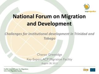 National Forum on Migration and Development