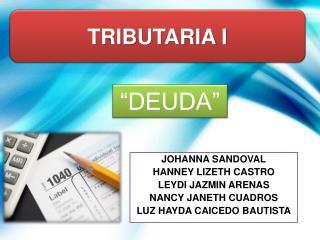 TRIBUTARIA I