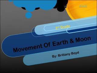 Movement Of Earth & Moon