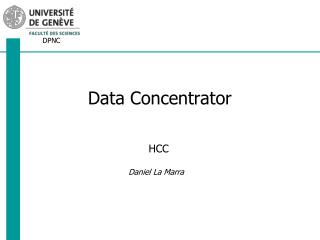 Data  Concentrator