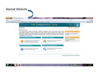 Alamat  Website