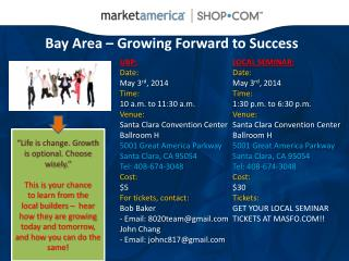 Bay Area – Growing Forward to Success