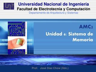 Universidad Nacional de Ingenier�a  Facultad de Electrotecnia y  Computaci�n