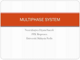 MULTIPHASE SYSTEM