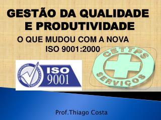 Prof.Thiago Costa