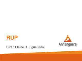 RUP Prof.ª Elaine B. Figueiredo
