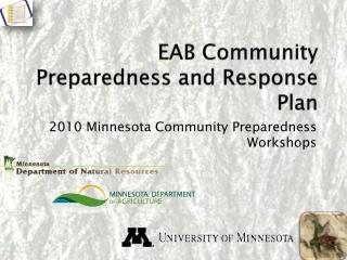 EAB Community Preparedness and Response Plan