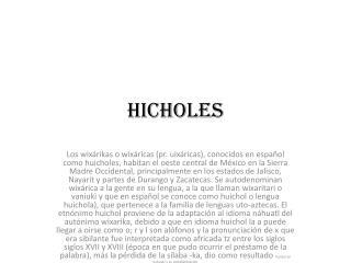 hicholes
