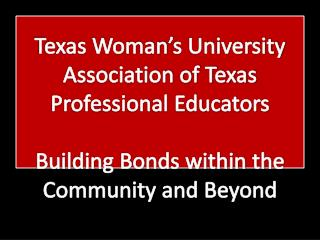 Texas Woman's University Association of Texas Professional Educators